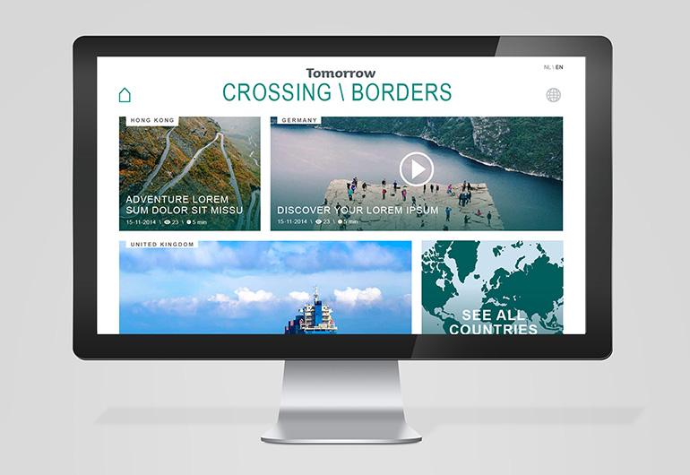 Crossing Boarders platform